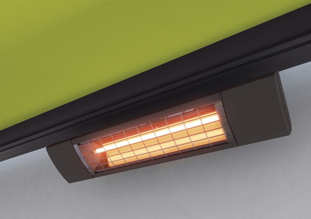 Awning heating