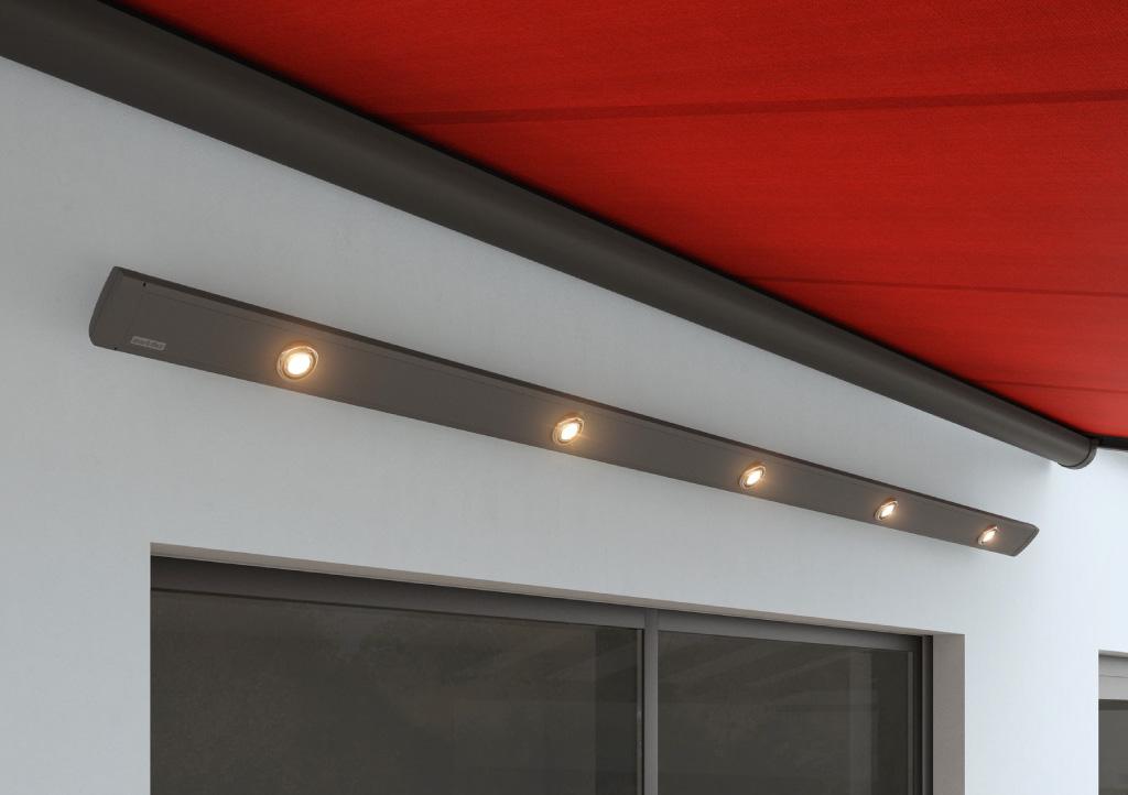 Awning LED spotlights