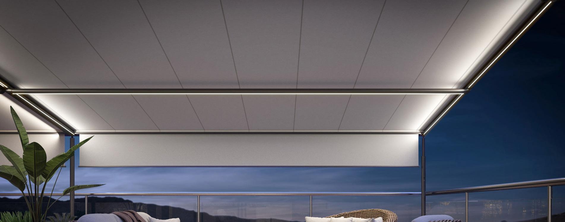Markilux pergola awnings