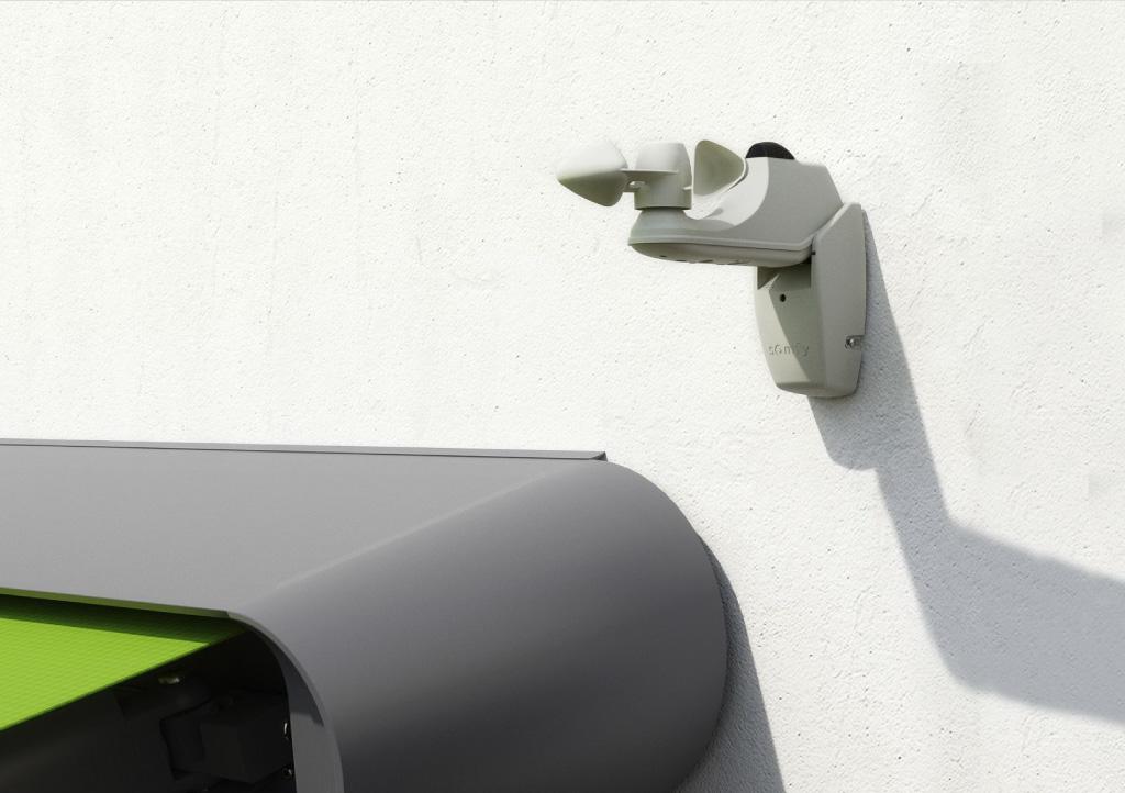 Light & wind sensor