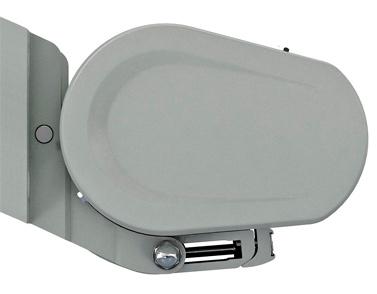 Markilux 5010 awning profile - grey