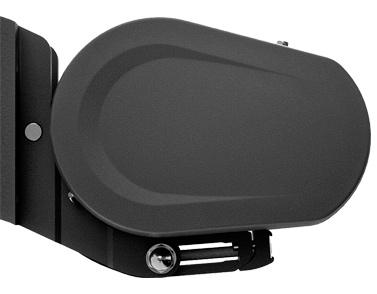 Markilux 5010 awning profile - black