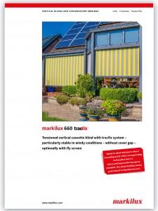 Markilux 660 brochure