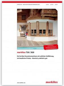 Markilux 710-810 brochure