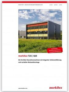 Markilux 725-825 brochure
