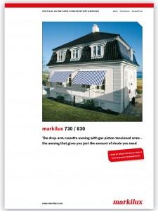 Markilux 730-830 brochure