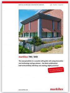 Markilux 740-840 brochure