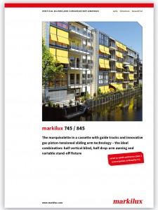 Markilux 745-845 brochure