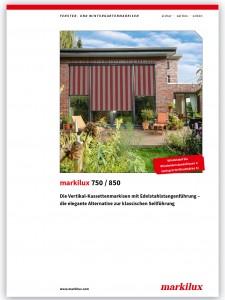 Markilux 750-850 brochure