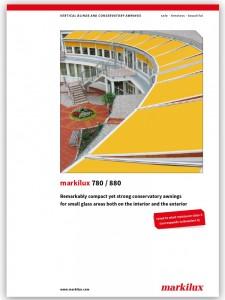 Markilux 780-880 brochure