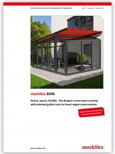 Markilux 8500 brochure