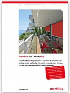 Markilux 869 brochure