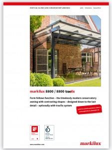 Markilux 8800 brochure