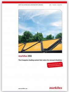 Markilux 893 brochure