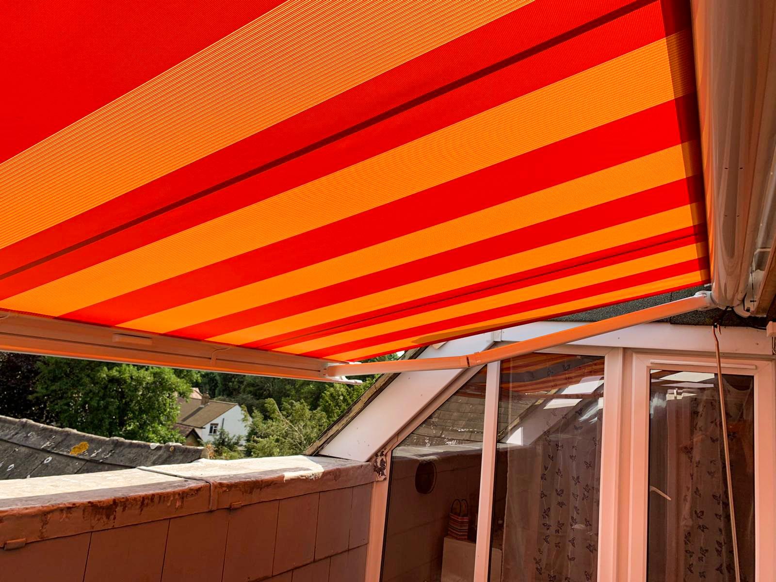 Markilux 990 Awning with Sunsilk Fabric