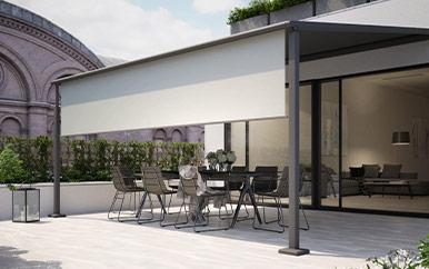 Markilux pergola compact awnings